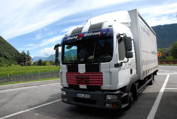 eiltransport lkw