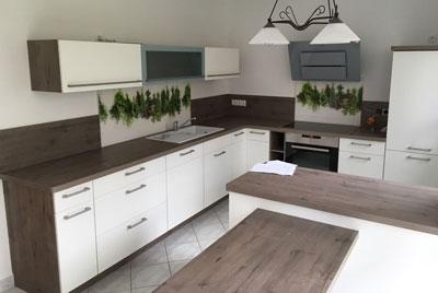 Küchenkomplettbau